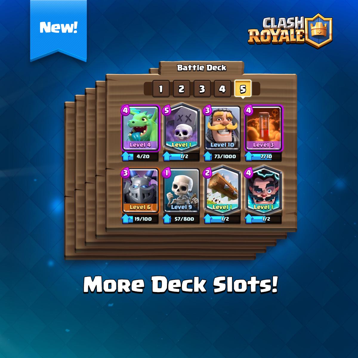 SNEAK PEEK #1 – More Deck Slots!